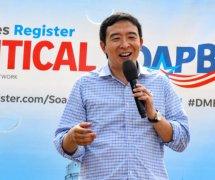 美国总统候选人安德鲁·杨支持区块链