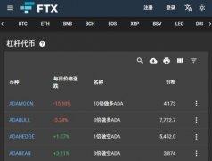 FTX衍生品交易所介绍