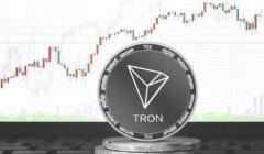 Tron活跃地址升至第三大区块链项目