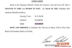 澳本聪作伪证被揭露罚16.5万美元,法院几乎否定所有上缴证据