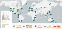 全球雷火电竞安卓app币ATM分布及使用体验情形