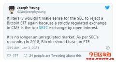ETF重燃希望!摩根大通:ETF的推出对比特币短期价格不利