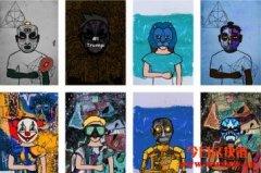 Hashmasks:链上的行为艺术品