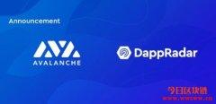 Chainlink喂价上线Avalanche测试网,Dapp Radar开始跟踪c链上