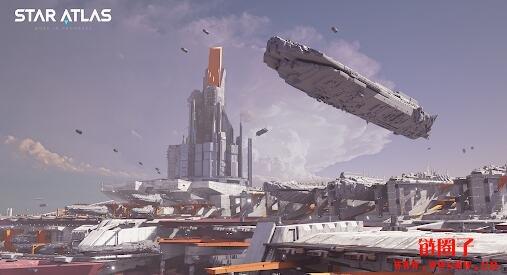 玩边赚的星际战争Star Atlas,结合DeFi玩法会带起Solan